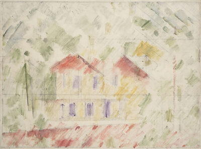 Godfrey Miller, '(Old Houses, Paddington)', 1950-1955