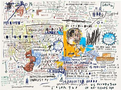 Jean-Michel Basquiat, '50 Cent Piece', 1982-83/2020