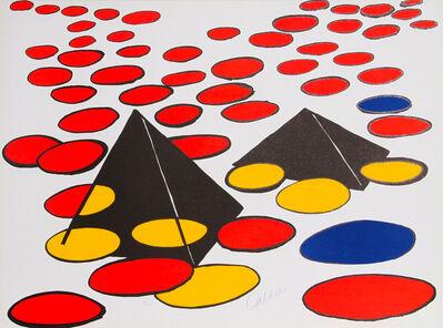 Alexander Calder, 'Black Pyramids', 1970