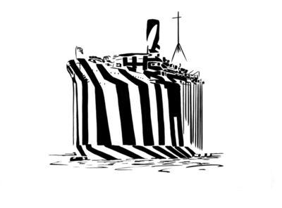 Darren Coffield, 'Ghost Ship', 2019