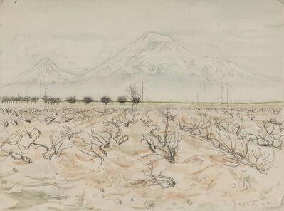Hagop Hagopian, 'Ararat', 1975