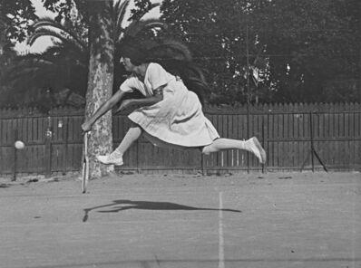 Jacques Henri Lartigue, 'Suzanne Lenglen Training, Nice', ca. 1921