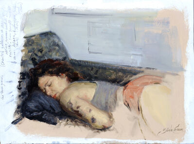 Cesar Santos, 'Page 44, The Chaise', 2019