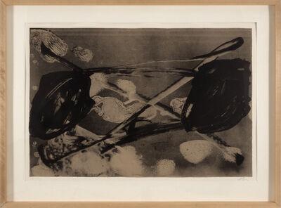 Antoni Tàpies, 'Empreinte Barrée', 1983