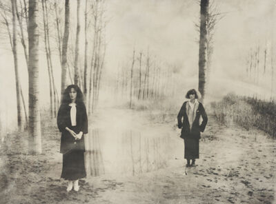 Deborah Turbeville, 'Women in the Woods: Ella and Isabella, VOGUE Italia', 1978