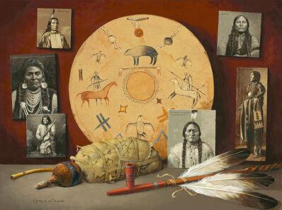Jenness Cortez, 'Seven Chiefs: Big Medicine', 2016