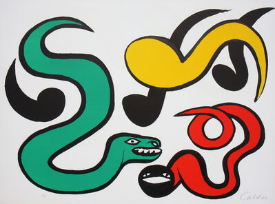Alexander Calder, 'Couleurs Au Choix (Choose Your Colors) ', 1976