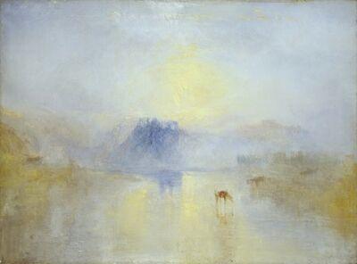 J. M. W. Turner, 'Norham Castle, Sunrise', circa 1845