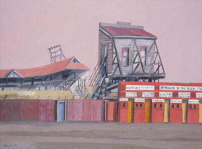Michael Shannon, 'South Melbourne Cricket Ground', 1975