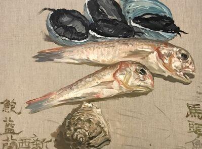 Ni Jun, 'Five Blue Abalones 五蓝鲍', 2019