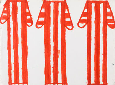 Evelyn Reyes, 'Coffee Cups (Red)', 2002-2009