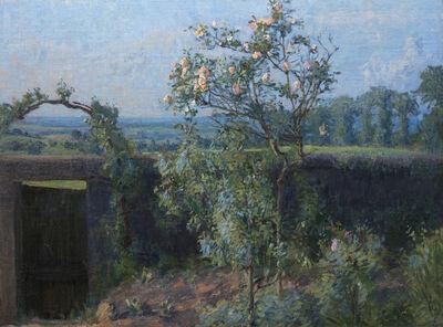Gustave Caillebotte, 'Vue du Jardin de l'Artiste et de la Vallée de Yerres', 1877