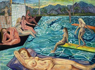 Bailey Gardner, 'Indoor Bathers', 2021