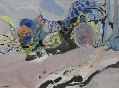 Gabriel Godard, 'Paysage mauve', 1970