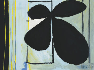 Robert Motherwell, 'Black Plant and Window', 1950