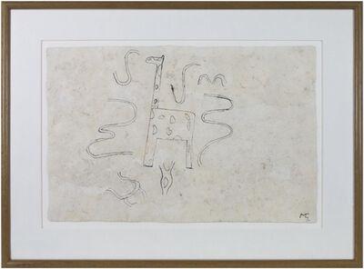 Miguel Castro Leñero, 'Giraffe', 1991