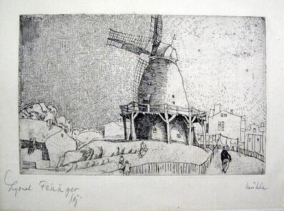 Lyonel Feininger, 'Old Mill', 1911