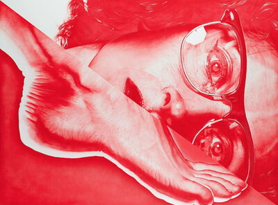 Victor Rodriguez, 'Red 2T Foot:Glasses', 2013