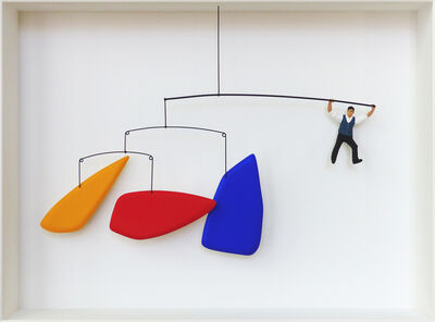 Volker Kühn, 'Homage to Calder, swing '