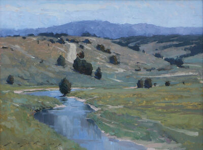 """Jeremy Lipking, '""""Sevier River""""', 2013"""