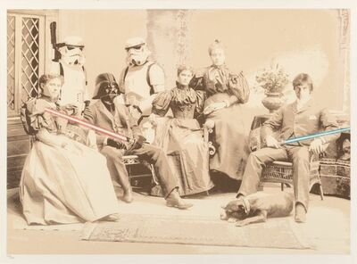 Mr. Brainwash, 'Star Wars Reunion', 2011