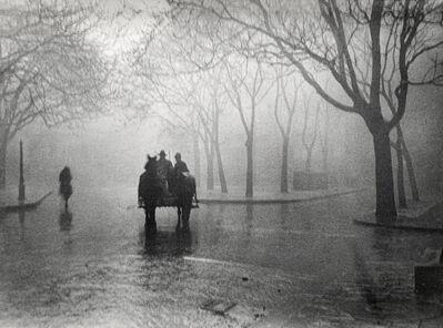 André Kertész, 'Hazy Day, Budapest, November 19, 1920', 1920
