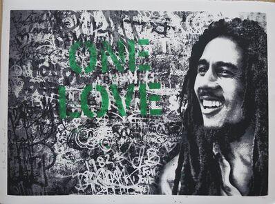 Mr. Brainwash, 'Happy Birthday Bob Marley - One Love', 2019