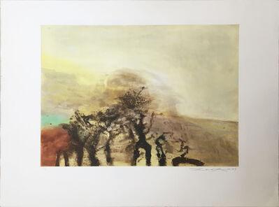 Zao Wou-Ki 趙無極, 'Sans titre', 1987