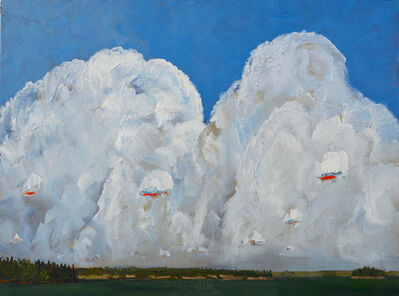 Gregory Hardy, 'Big White Cloud', 2018