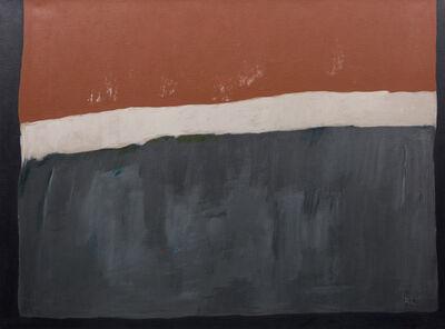 Ruth Eckstein, 'Black Fields XI', 1981