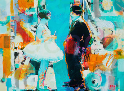 Lenner Gogli, 'Chaplin And Pavlova III', 2016
