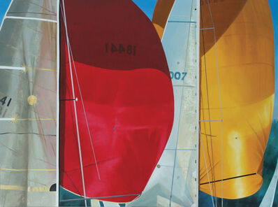 Kay Bradner, 'Red and Yellow Spinnaker', 2012