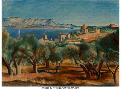 Henri Hayden, 'Paysage de Sanary (Côte d'Azur)', circa 1929