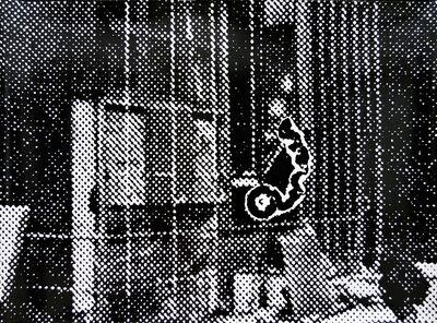 Sigmar Polke, 'Motorradfahrer', 1990-2000