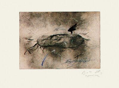 Antoni Tàpies, 'Petjades i signatures', 1982