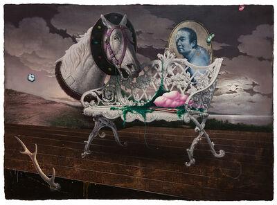 Kuo Wei-Kuo, 'White Loveseat', 2019