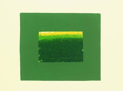 Howard Hodgkin, 'Indian View K', 1971