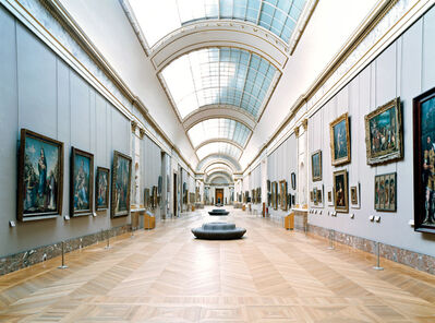 Candida Höfer, 'Musée du Louvre Paris XVIII', 2005