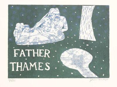 Julian Trevelyan, 'FATHER THAMES (Turner 220)', 1969