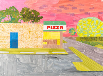 Carolyn Swiszcz, 'Pizza (Roccos, West St. Paul)', 2017
