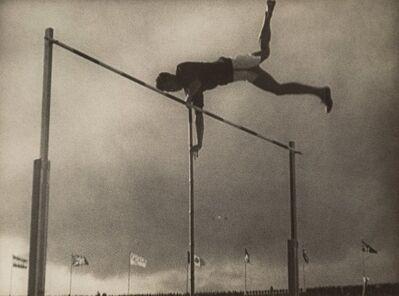 Leni Riefenstahl, 'Pole Vaulter', 1937