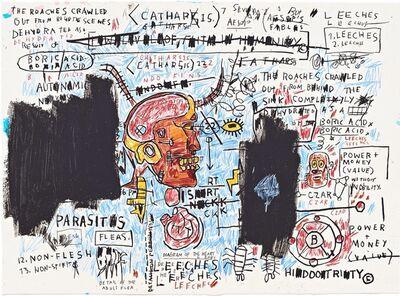 Jean-Michel Basquiat, 'Leeches ', 1983/2017