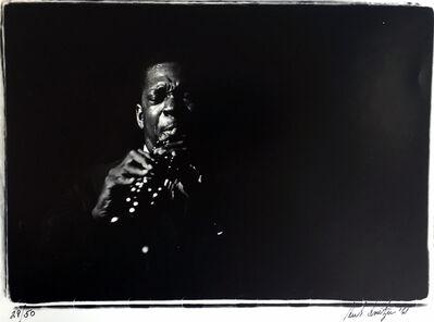 Herb Snitzer, 'John Coltrane', 1962