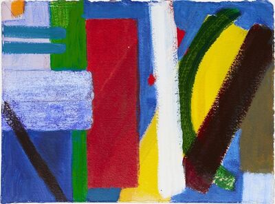 Wilhelmina Barns-Graham, 'Untitled (red vertical)'