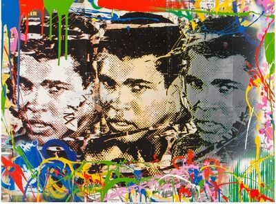 Mr. Brainwash, 'Legend Forever (Homage to Muhammad Ali)', 2016
