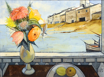 Charles Levier, 'Port de Peche (Still Life and Harbor) ', ca. 1950
