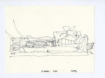 Frank Gehry, 'Guggenheim Museum Bilbao, design sketch of the riverfront elevation, Bilbao, Spain', 1991