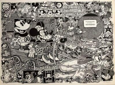 John Fawcett, 'Vintage Pop Art Mickey Mouse Comics Offset lithograph Poster Ok Harris Gallery', 1970-1979