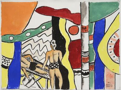 Fernand Léger, 'Deauville la Sieste', 1950