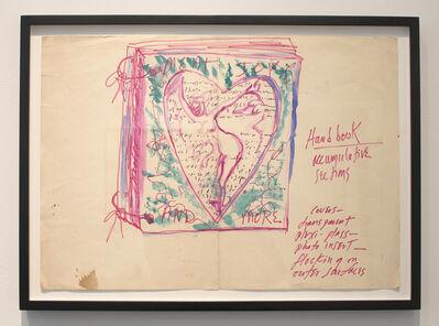Carolee Schneemann, 'Sketch for More Than Meat Joy'